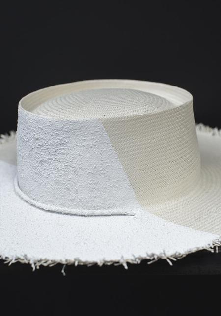 Hüte Millinery The Levee Hat - white