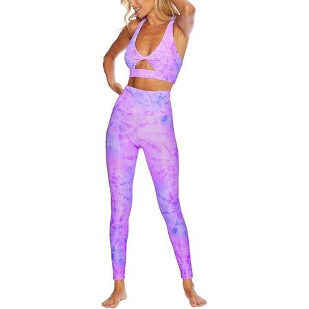 Beach Riot Ayla Legging - Crystal Tie Dye