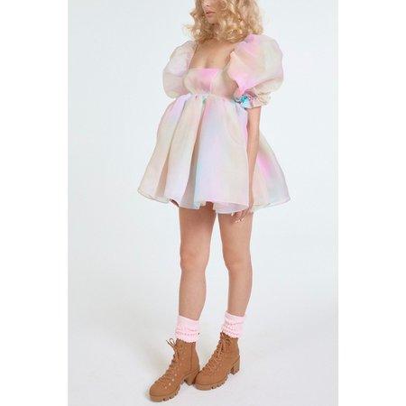 SelkieThe Puff Short Dress - Rainbow