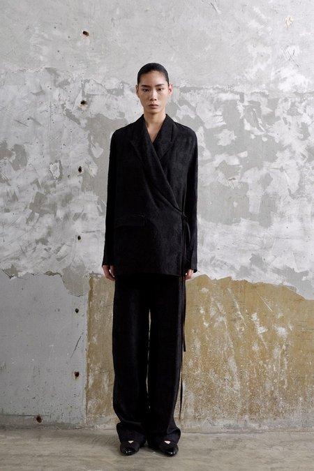 Uma Wang Kilt Jacket - Black