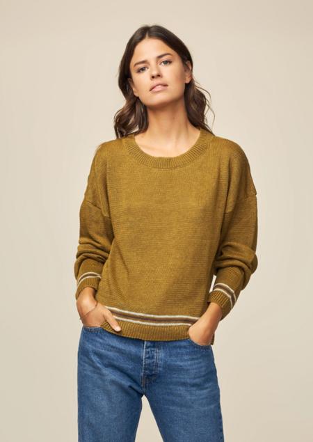 Diega Pontio Sweater - Olive Green