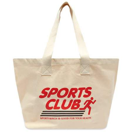 Sporty & Rich Sports Club Tote - Natural