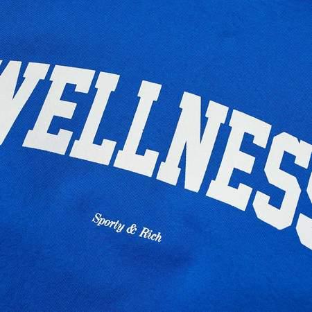 Sporty & Rich Wellness Ivy Crewneck - Princess Blue
