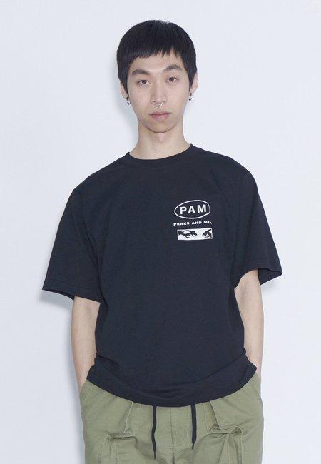 Perks and Mini Ginseng Logo T-Shirt - black