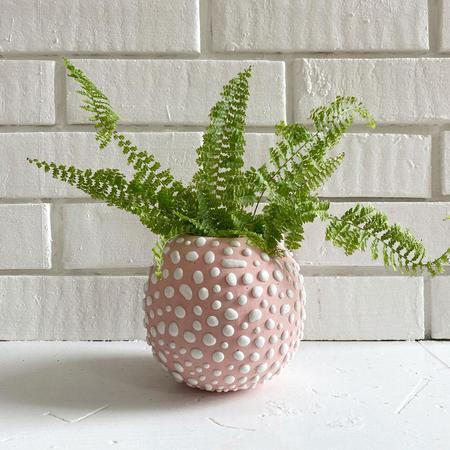 Clare Burson Egg Vase - Bubblegum