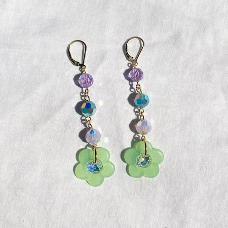 SJO Jewelry Flower Drop Earrings