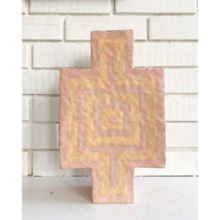 Kelsie Rudolph Infinite Vessel XII vase - peach/pink