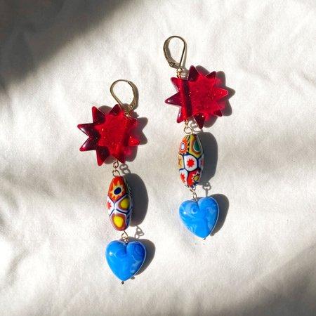SJO Jewelry Lydia Starburst Earrings