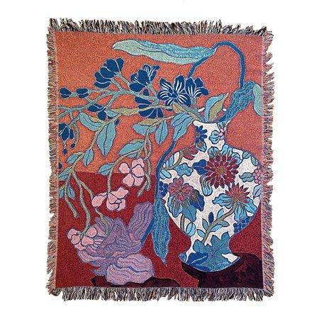 Sarah Ingraham Still Life Blanket - Red