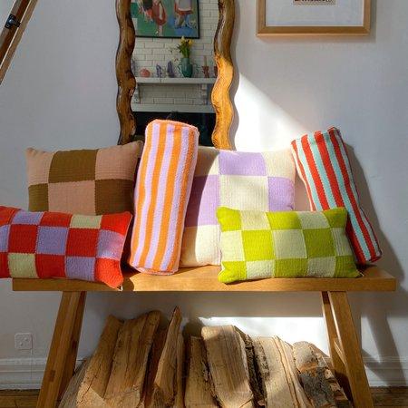 Shaana Hatamian Striped Bolster Pillow