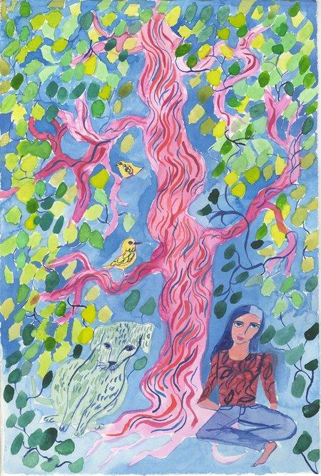 Olivia Wendel Watercolor 1 painting