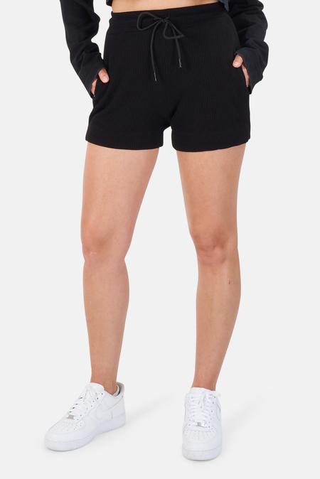 Cotton Citizen Monaco Shorts - Jet Black