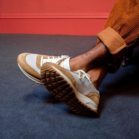 Unseen Footwear Trinity Suede sneakers - Mesh Tan