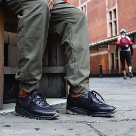 Unseen Footwear Trinity Leather Mesh - Black