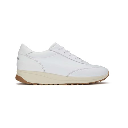 Unseen Trinity Leather Sneakers - White