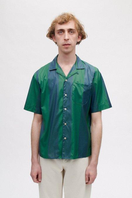 A Kind of Guise Gioia Shirt - Bold Jade Stripe