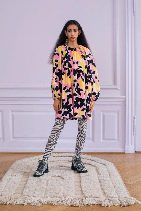 Stine Goya Kelly Dress - Watercolour Flora