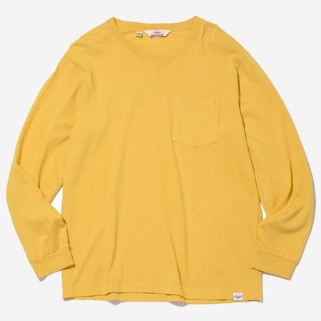 Battenwear Long-Sleeve Basic Pocket Tee - Mustard