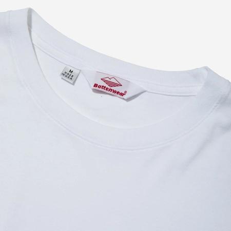 Battenwear Long-Sleeve Basic Pocket Tee - White