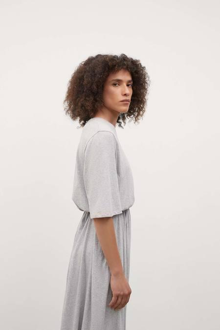 Kowtow Silhouette Dress - Grey Marle