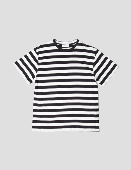 Kapatid NYC Striped T-Shirt - Ecru/Black