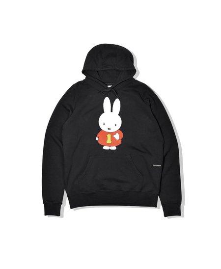 Pop Trading Company Miffy Hooded Sweat - Black