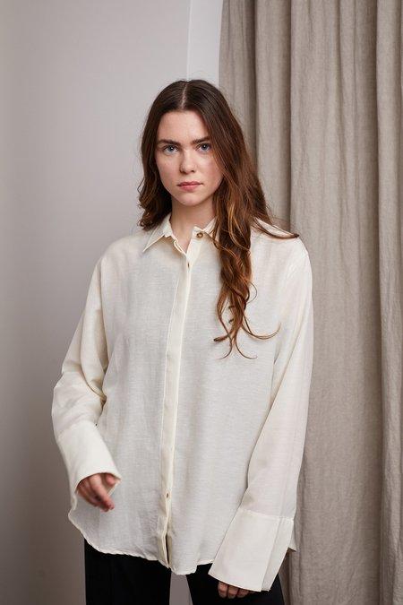 St. Agni Oriol Oversized Shirt - Ivory