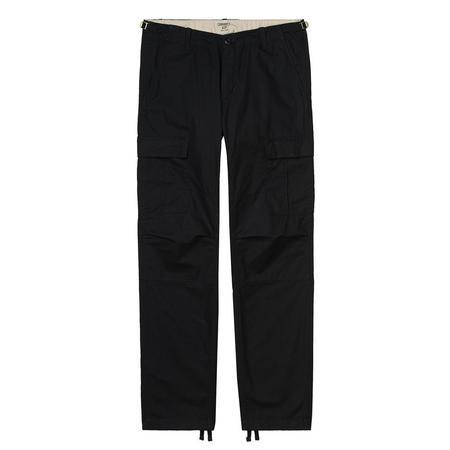 CARHARTT WIP Aviation Pant - Black Rinsed