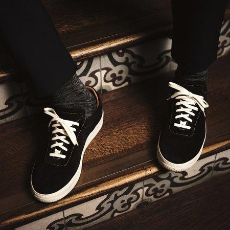 Unseen Footwear Clement Suede Contrast Sneaker - Navy