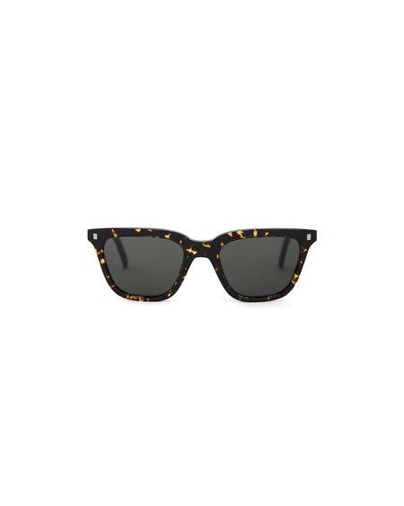 unisex Monokel Robotnik Sunglasses - Brown Tortoise