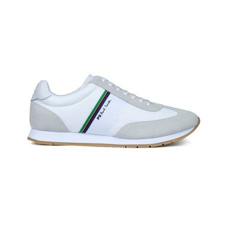 PAUL SMITH Prince White Leather Sneaker - White