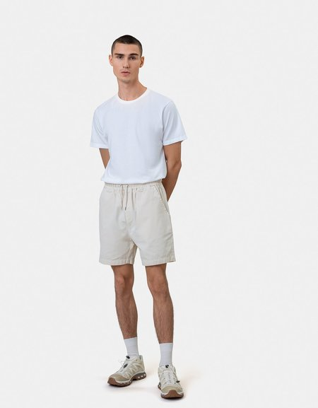 Colorful Standard ORGANIC TWILL SHORTS - DUSTY OLIVE