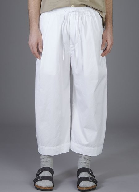 GREI. OVATE BAGGY PANT - WHITE