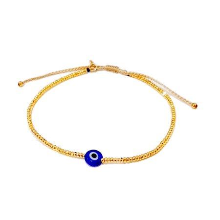 tai Seed Bead Evil Eye Bracelet