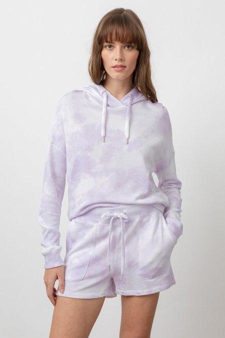 Rails Murray Hooded Sweatshirt - LAVENDER TIE DYE
