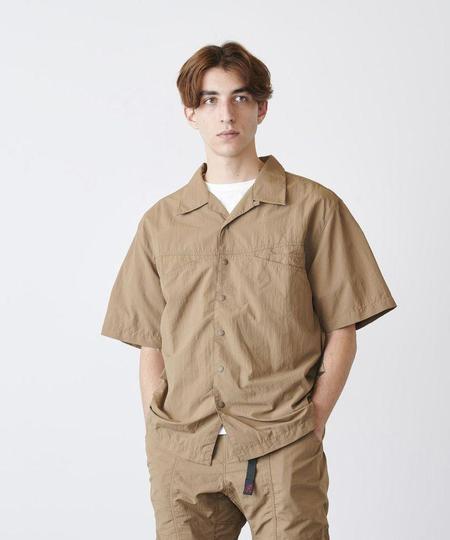 Unisex Gramicci Shell Camp Shirt - Ash Olive