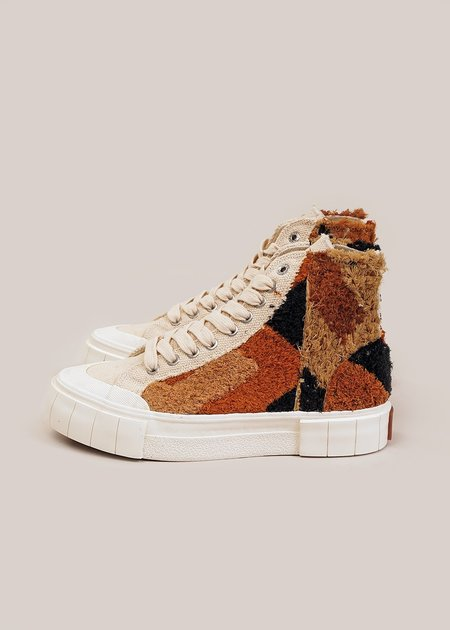 Unisex Good News Palm Moroccan Sneakers - Oatmeal