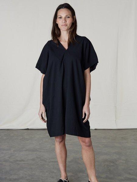 Uzi NYC Oversized V Dress