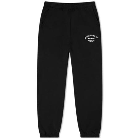 Sporty & Rich Wellness Studio Sweatpant - Noir