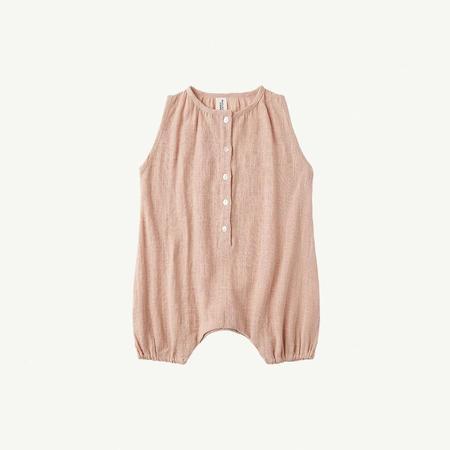 KIDS Summer & Storm Sleeveless Baby Romper - dusty peach