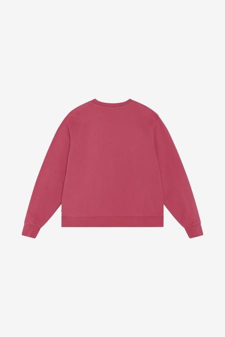 Han Kjøbenhavn Bulky Crew sweater - Faded Dark Pink