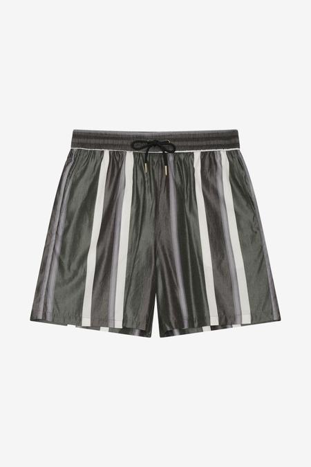 Han Kjøbenhavn Track Shorts - Bright Stripe