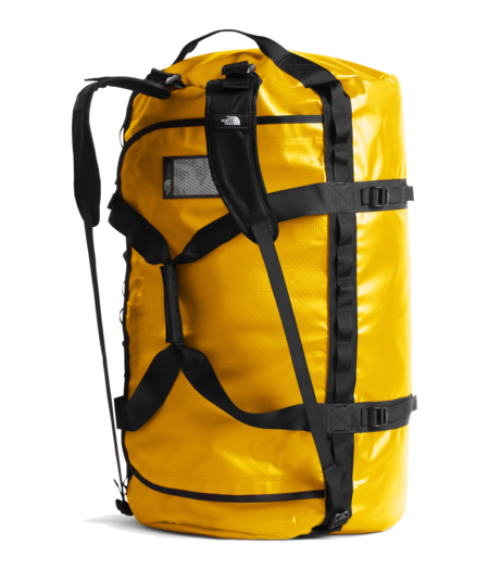 THE NORTH FACE Extra Large Base Camp Duffel Bag - Summit Gold/TNF Black