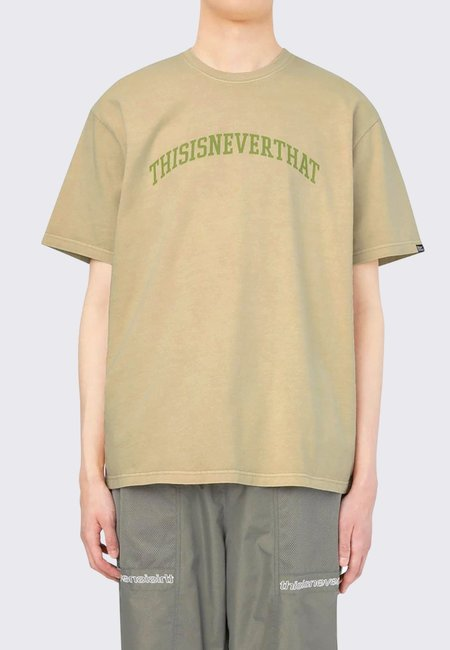 ThisIsNeverThat Arc Logo T-Shirt - tan
