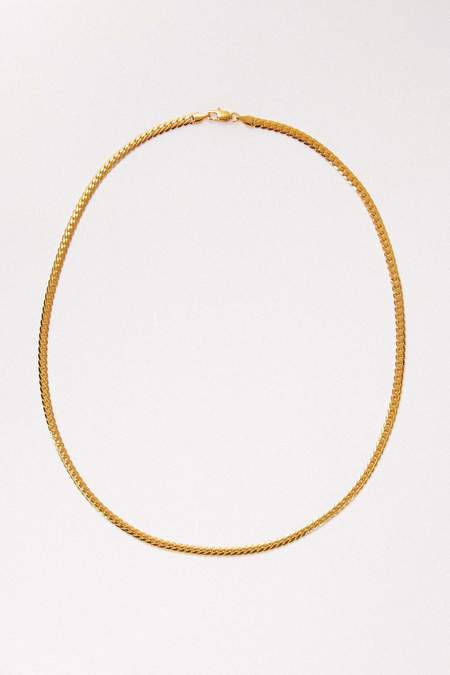 Petit Moments Alicia Necklace - 18k Gold Plated/Stainless Steel