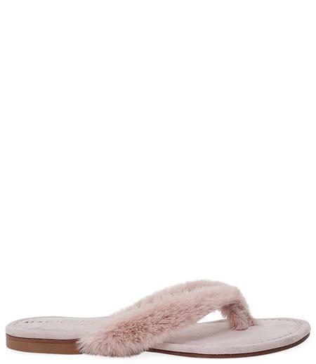 Madison Maison by Paola Martini Ivanka Thong Sandal - Light Pink