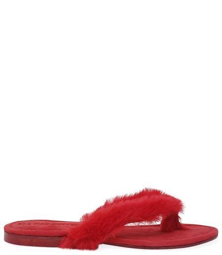 Madison Maison by Paola Martini Ivanka Thong Sandal - Red
