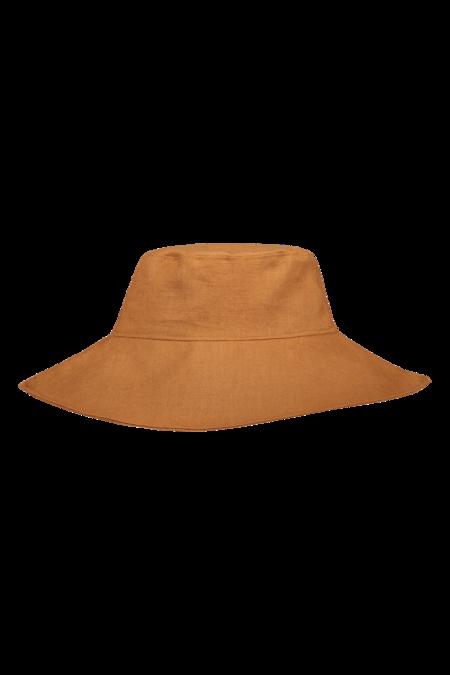 Kids Kaiko Clothing Boho Sun Hat - Brown