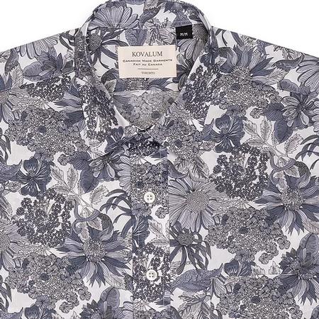 Kovalum Liberty S/S Shirt - Grey