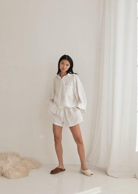 Deiji Studios The 03 Sleepwear Set - White